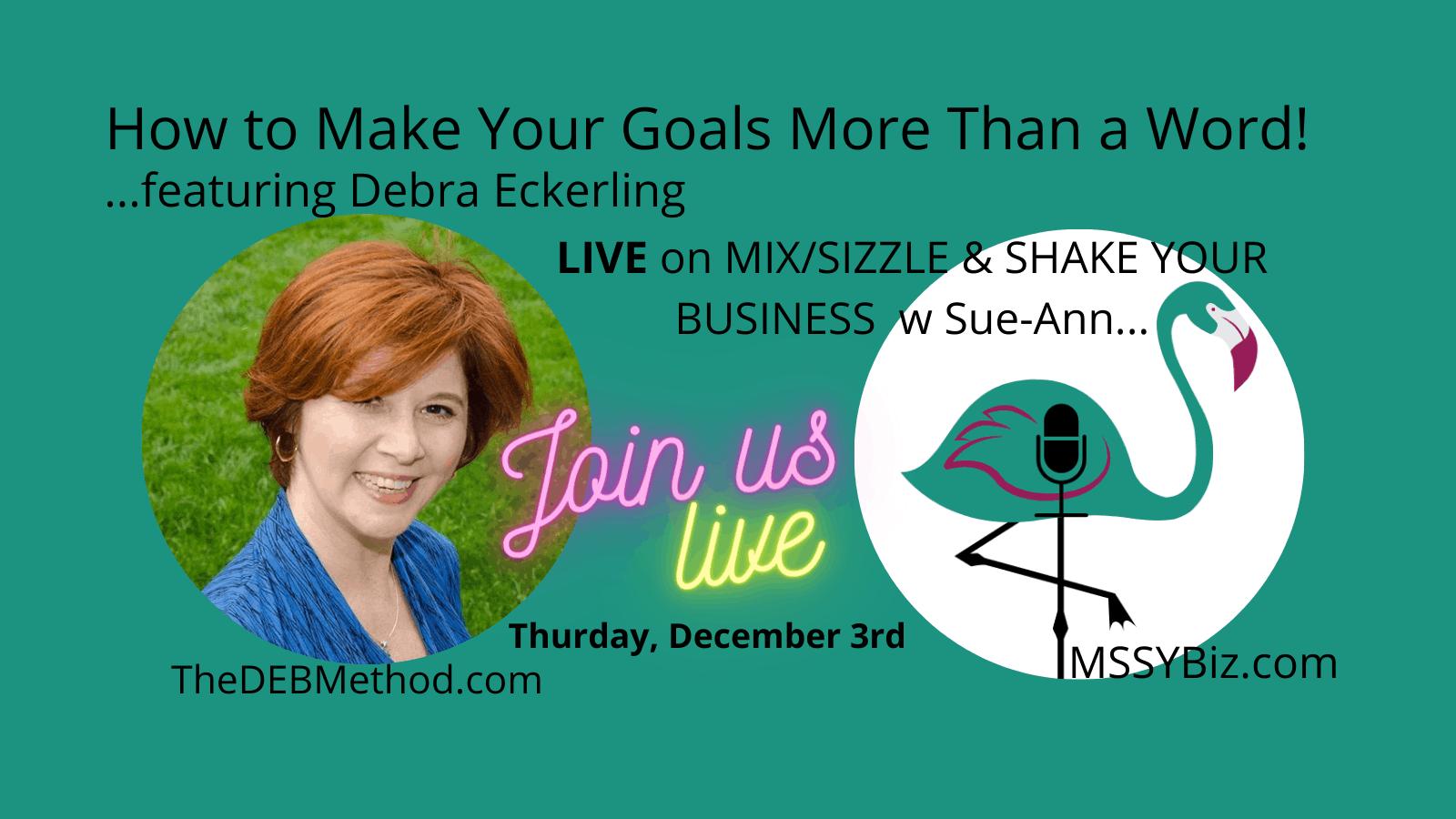 Debra Eckerling On the MSSYBiz Podcast Cover Thumbnail